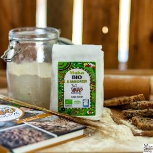 Mąka z samopszy BIO Typ 1850 0,5 kg
